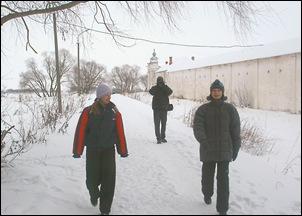 Новый год 2006 Великий Новгород