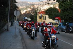 Новый год 2009 Дубровник Деды Морозы