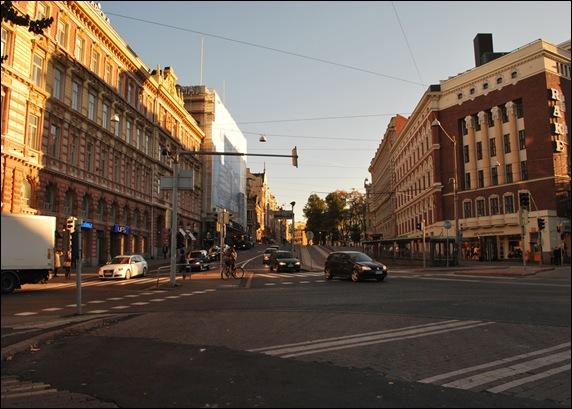 Финляндия Хельсинки центр города